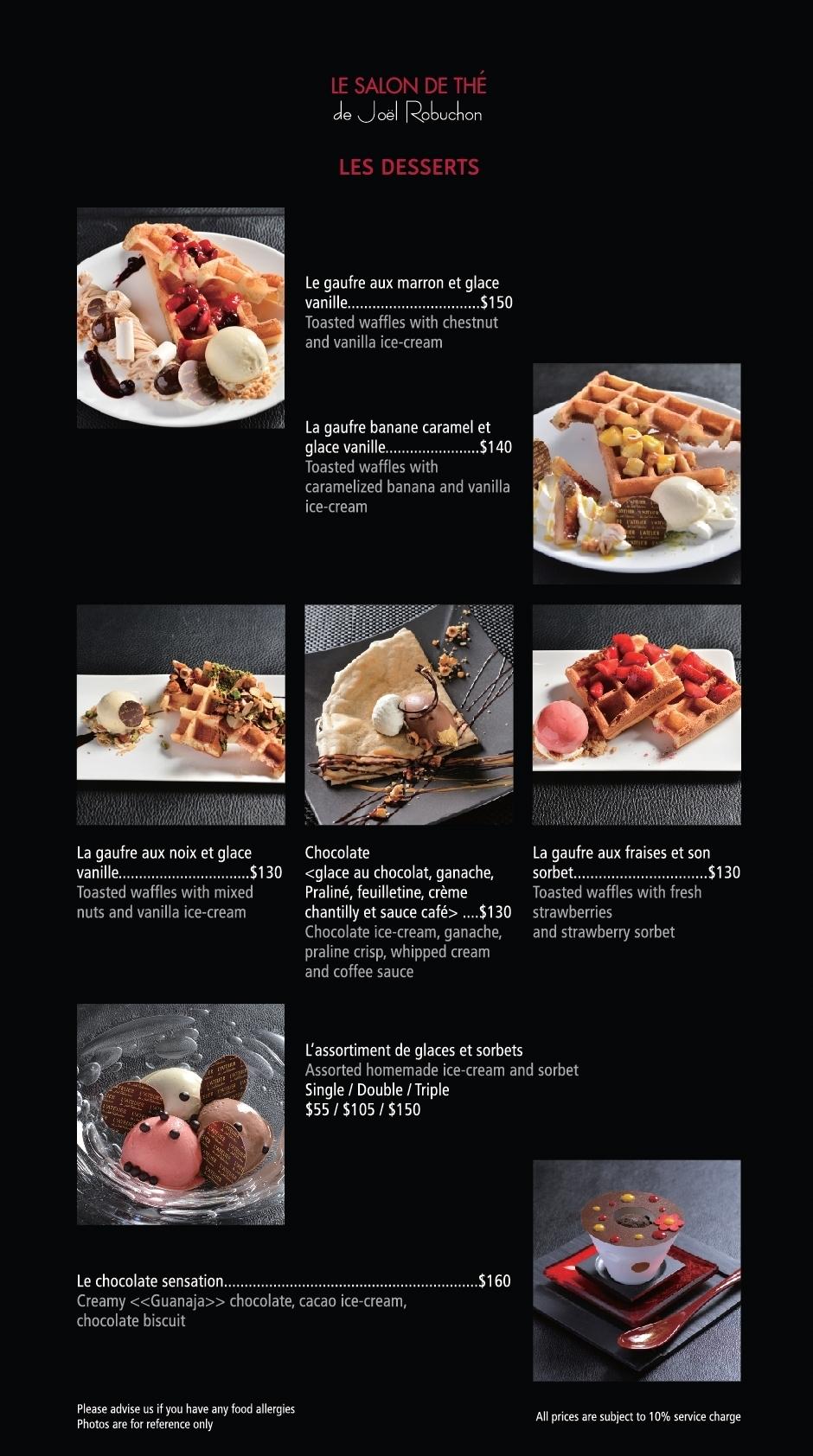 LE SALON DE THÉ (LANDMARK) menu – L\'Atelier HK